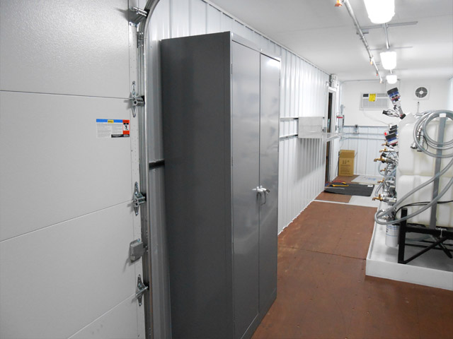 Lubrication Storage Rooms Custom Built Reliable