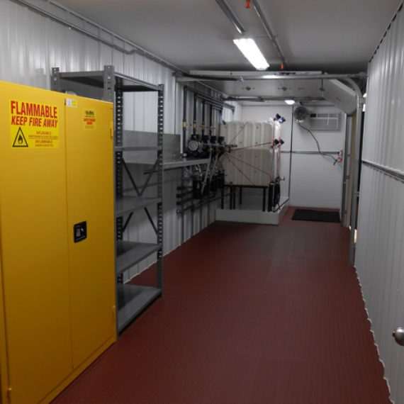 lube oil storage rooms