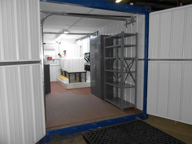 Lubrication Storage Rooms Custom Built Reliable