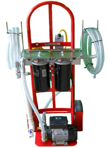 portable filtration system and filter cart