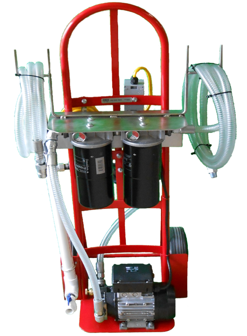 Oil Filter Carts Kidney Loop Filtration Reliable