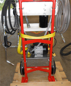 portable oil drum carts