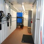 Lube Storage Rooms - Steel Oil Storage