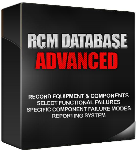 reliability centered maintenance - rcm database reliability databases