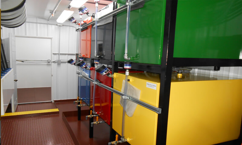 bulk oil color code storage filtration