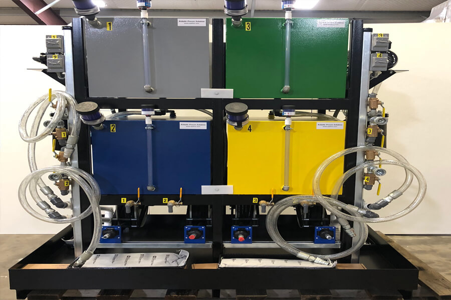 lubrication filtration system - lubrication excellence color code unit