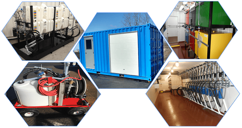 lubrication filtration rooms